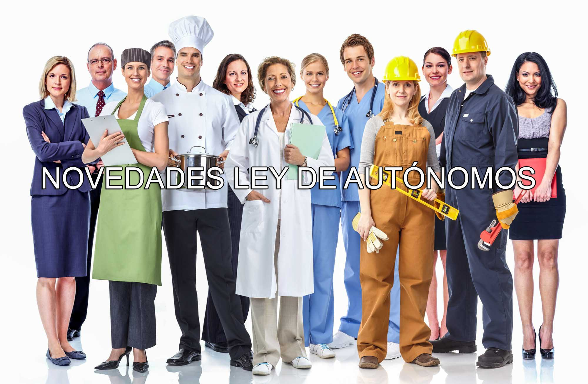 NOVEDADES LEY DE AUTONOMOS
